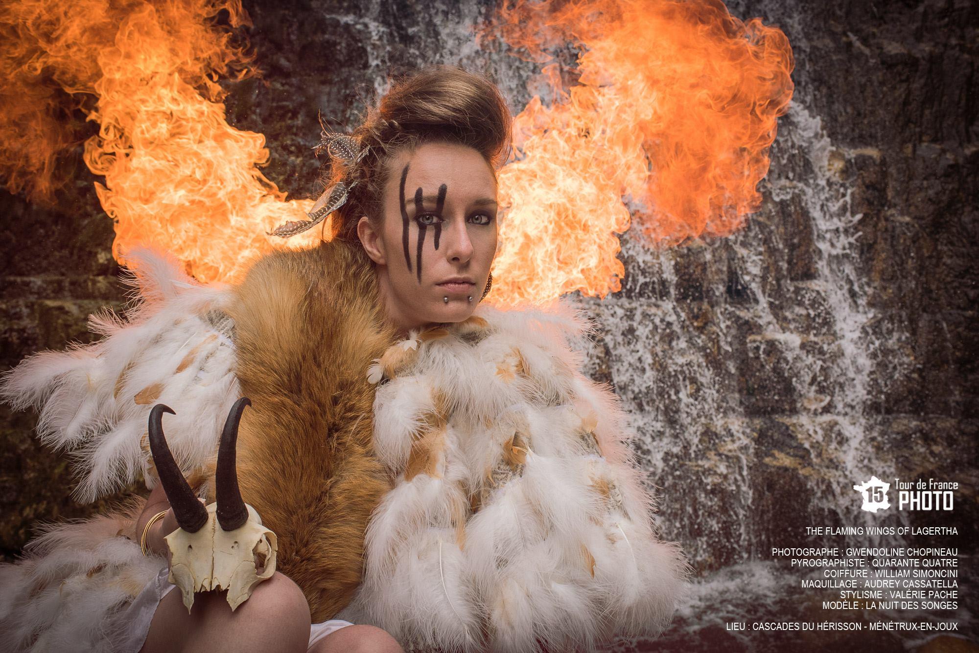 Ailes enflammées Lagertha