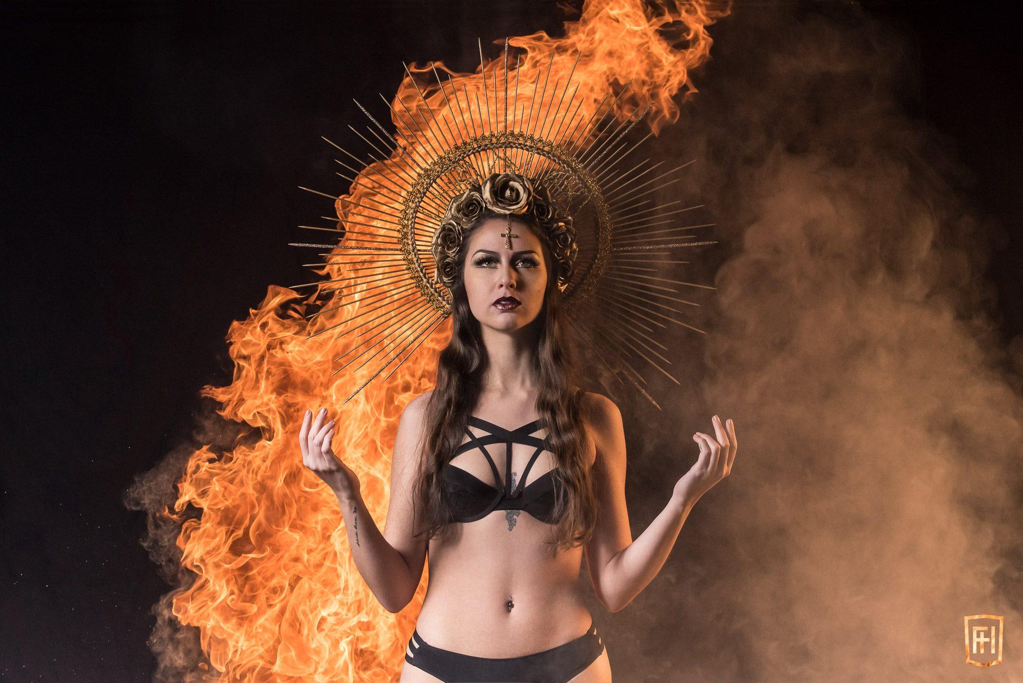 Sainte Marie mère de feu