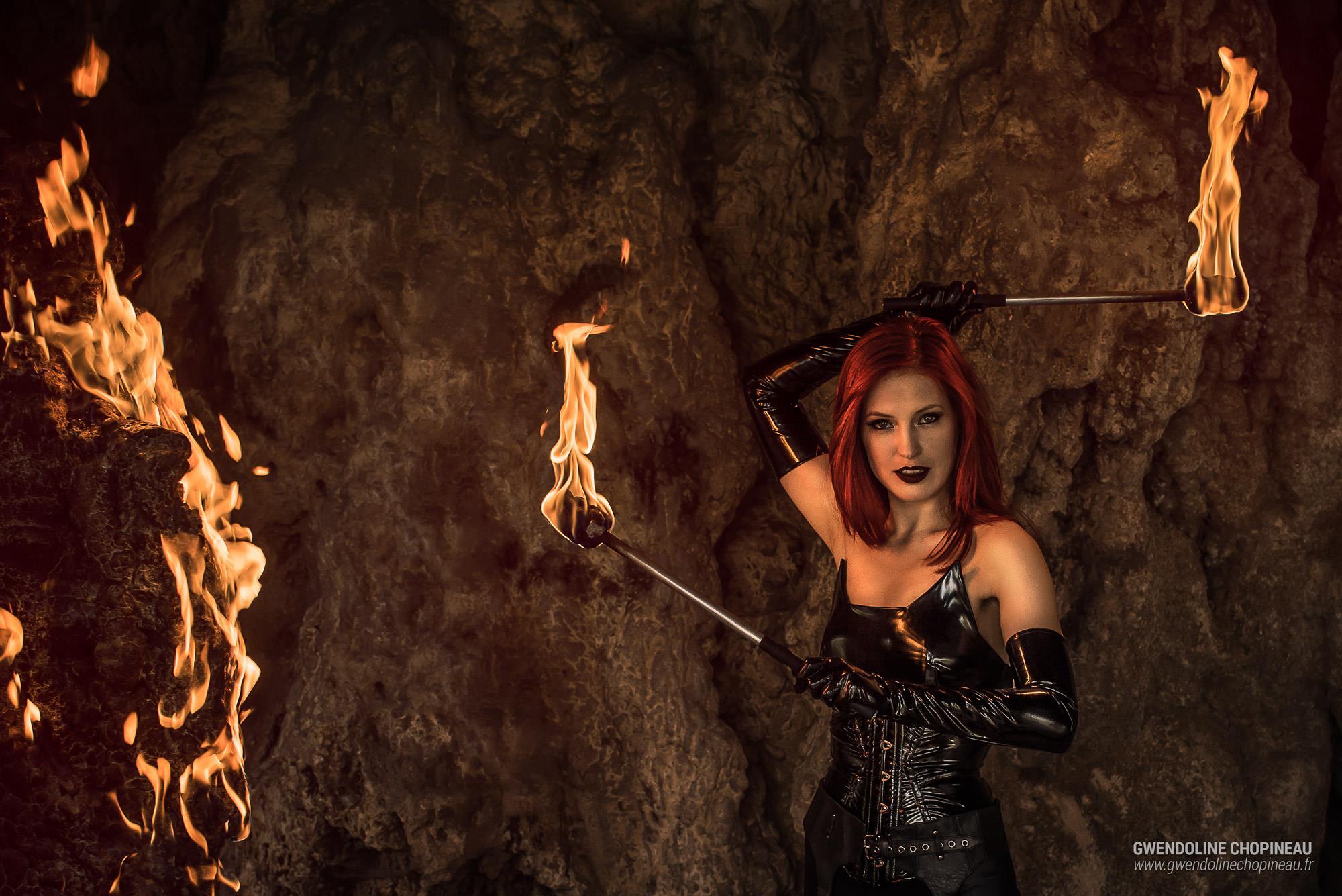 Ariel Firestone effets pyrotechniques
