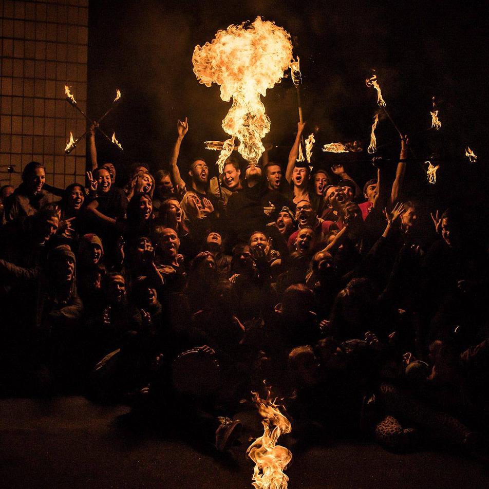 kiev fire festival cracheur de feu