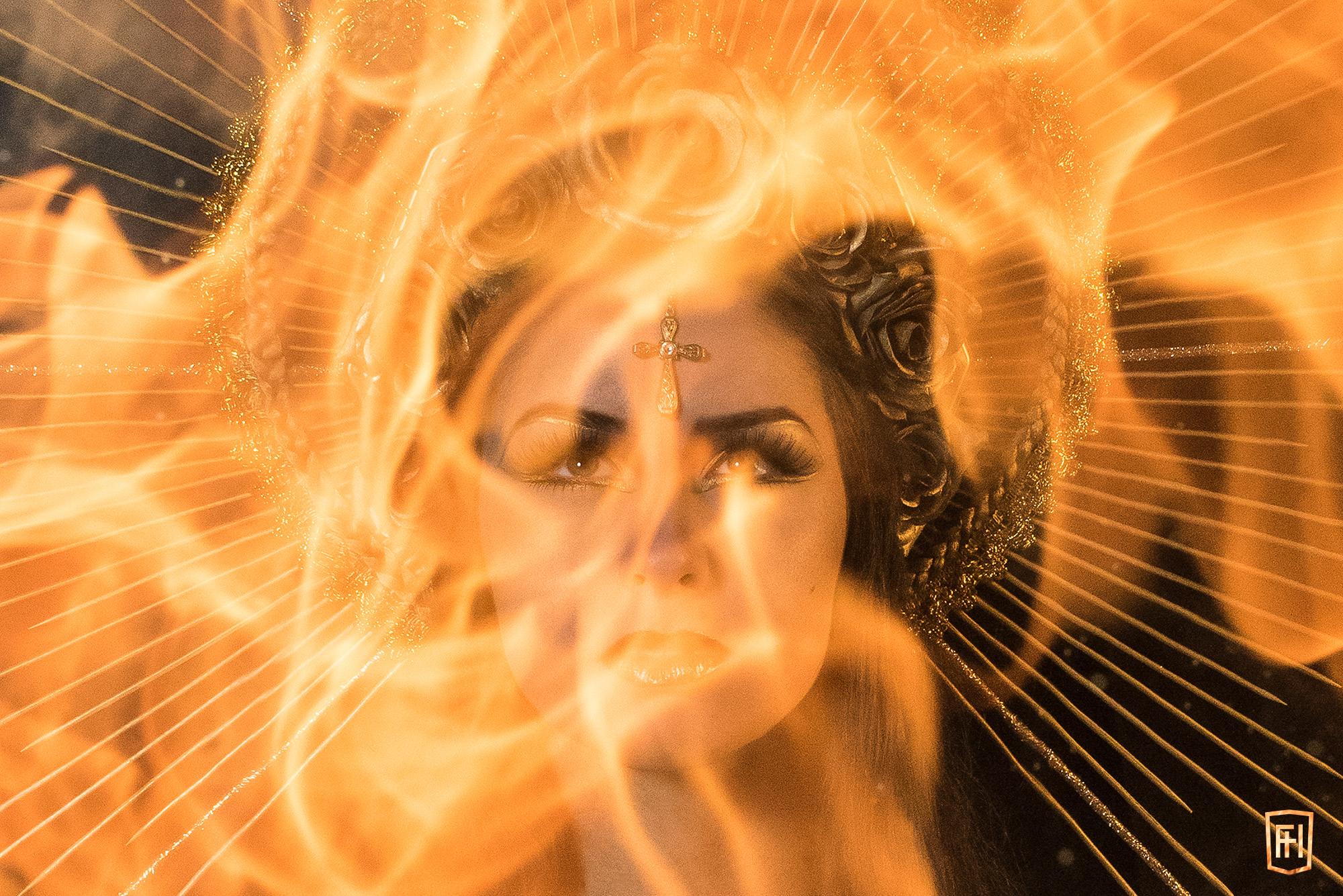 Portrait enflammé Quarante Quatre