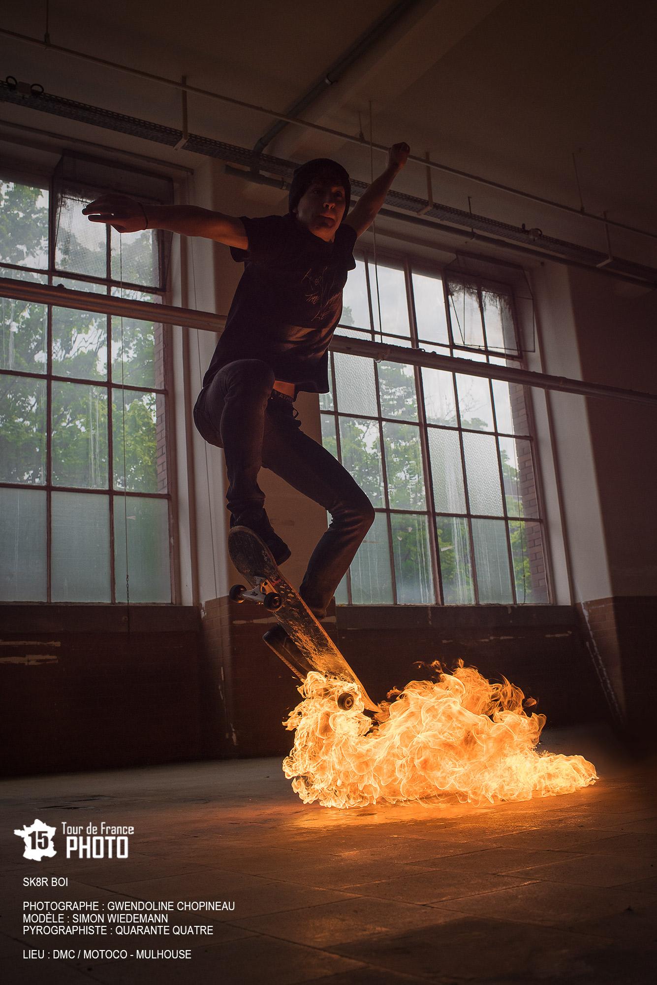 Sk8er Boi photo de feu