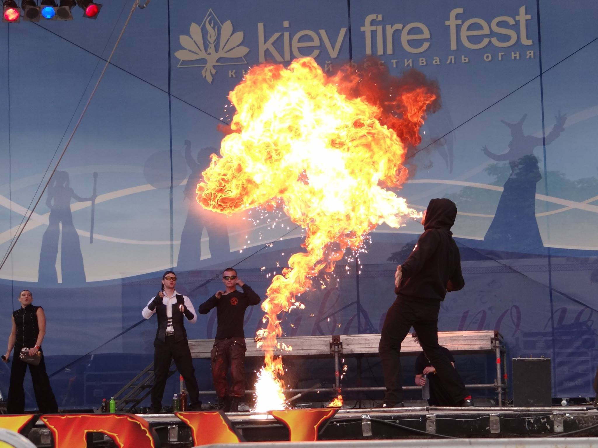 Quarante Quatre cracheur de feu battle kff 2016